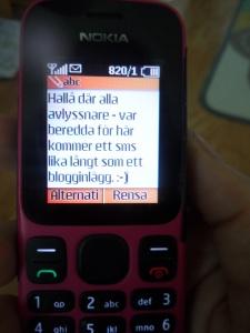 Glöm inte att ni alltid kan nå viktiga myndigheter genom att lämna ett direktmeddelande via sms. ;-)